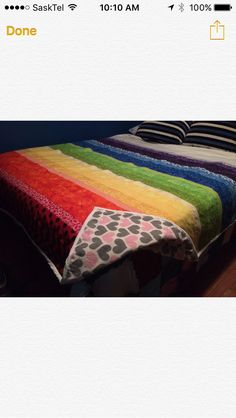 Queen Size Blanket, Chakra Colors, Hand Sewing, Colours, Quilts, Handmade, Sewing By Hand, Comforters, Hand Made