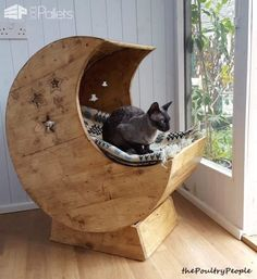 Our Cats Deserve Awesome Cat Pallet Projects: Here's 10 Amazing Ideas For Them! Animal Pallet Houses & Pallet Supplies