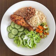 Low Carb Meal, Healthy Meal Prep, Healthy Cooking, Healthy Recepies, Healthy Snacks, Gourmet Dinner Recipes, Healthy Chicken Dinner, Whole Food Diet, Health Dinner