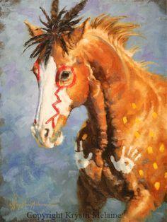 Krystii Melaine Fine Art. HORSE