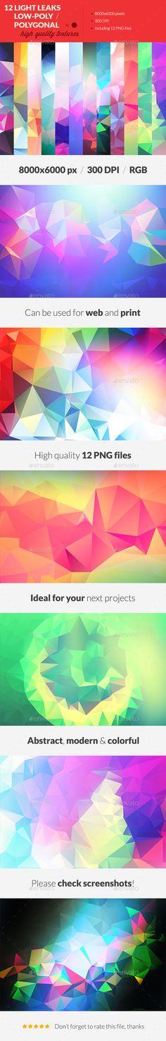 12 Light Leak Polygonal Background Textures #4  — PNG Image #shape #web • Download ➝ https://graphicriver.net/item/12-light-leak-polygonal-background-textures-4/13607028?ref=pxcr