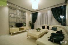 Гостинная #interiordesign #products&services #apartment #house #livingroom #lounge #drawingroom #parlor #salon #keepingroom #sittingroom #receptionroom #parlour #minimalism #wall #20_30m2 #interiorwallpanels #artdeco #green #pistachiocolored