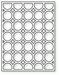 Papertrey Ink - Cover Plate: Circles Die