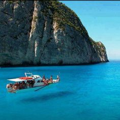 "In the west side of #Zakynthos are also located the Blue Caves or ""Volimes"", the picturesque village where they are located."