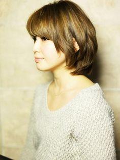 AFLOAT JAPANのヘアスタイル | ナチュラルパーマのふんわり小顔ショート★ | 東京都・銀座の美容室 | Rasysa(らしさ)