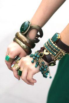 Emerald desire... Visit us at Cybelle.com.au