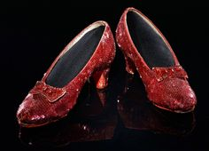 Gilbert Adrian, shoes, 1938. Worn by Judy Garland in MGM's The Wizard of Oz. In the collection of the National Museum of American History #FairyTaleFashionshoe