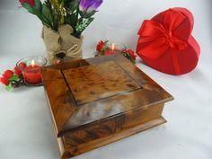 Carved Thuya wooden turning box gift secret storage from   Etsy Hide Money, Secret Box, Handmade Jewelry Box, Secret Storage, Magic Box, Sewing Box, Clever Design, Storage Drawers, Jewellery Storage