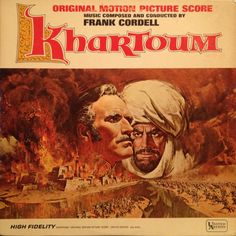 Frank Cordell - Khartoum (Original Motion Picture Score): buy LP, Mono at Discogs