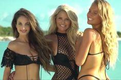 Modelo de 63 anos é capa da Sports Illustrated com as filhas