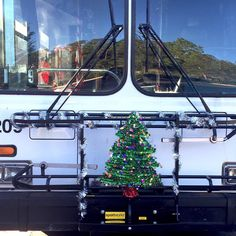 Did you get a chance to ride the UNF Holiday Connector?