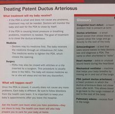How a Patent Ductus Arteriosus is treated. Ob Nursing, Nursing Notes, Neonatal Nursing, Maternity Nursing, Nicu, Patent Ductus Arteriosus, Nurse Pics, Congenital Heart Defect, Respiratory Therapy