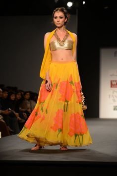 Anupamaa dayal's signature bohemian aesthetics with traditional Indian silhouettes