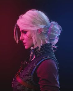 Steam Community: The Witcher Wild Hunt. Ciri Witcher, Witcher Art, The Witcher Wild Hunt, The Witcher Game, Red Knight, Female Knight, Female Character Design, Game Character, League Of Legends Video