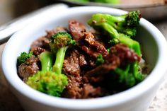 Jaden's Chinese Beef Broccoli via the Pioneer Woman. Used red cooking wine instead of sherry and 1 tsp rice wine vinegar instead of 2 tsp Chinese black vinegar. Tom loved it.