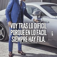 crecimientopersonal pensamientospositivos billonario redessociales pymes emprendedores ingresos - Tap the link now to Learn how I made it to 1 million in sales in 5 months with e-commerce! I'll give you the 3 advertising phases I did to make it for FREE! Me Quotes, Motivational Quotes, Inspirational Quotes, Mentor Of The Billion, Ec 3, Spanish Quotes, Sentences, Wise Words, Wisdom