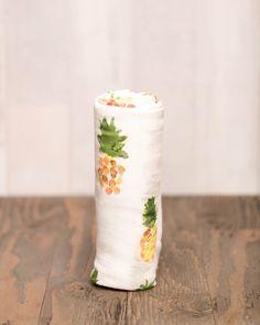 Pineapple swaddle blanket