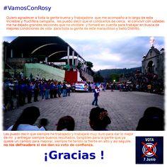 ¡Gracias! #Tenancingo #Malinalco #Zumpahuacan #Ocuilan #Joquicingo #VamosConRosy #APocoNo