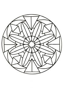 In these pages, we offer you Easy Mandala coloring pages for kids, or even for adults who would like to begin coloring this type of drawing . Before using more difficult Mandalas. Various styles and themes are available, and others will be added soon ! Easy Coloring Pages, Free Coloring Sheets, Mandala Coloring Pages, Free Printable Coloring Pages, Coloring Pages For Kids, Coloring Books, Mandalas For Kids, Simple Mandala, Adult Coloring Pages