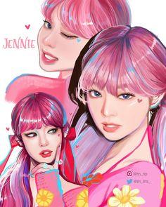 """토립 on Twitter: """"제니.. #JENNIE #제니… """" Wallpapers Kpop, Cute Wallpapers, Kim Jennie, Blackpink Poster, Lisa Blackpink Wallpaper, Kpop Drawings, Black Pink Kpop, Digital Art Girl, Blackpink Photos"""