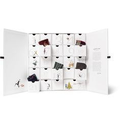 <b>Designed exclusively for MR PORTER.</b> Treat someone special to a season of fresh socks with this clever advent calendar by Welsh knitwear specialist <a href='http://www.mrporter.com/mens/Designers/Corgi'>Corgi</a>. From the first day to the 23rd, each drawer is stuffed with a cotton-blend pair in festive patterns, while Christmas Eve reveals a luxurious cashmere and silk-blend design.