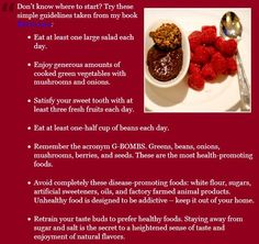 Eat to Live Guidelines