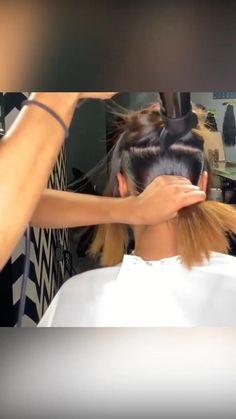 Slick Ponytail, Hair Ponytail Styles, Black Ponytail Hairstyles, African Braids Hairstyles, Baddie Hairstyles, Afro Ponytail, Sleek Hairstyles, Weave Hairstyles, Braids For Black Hair