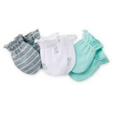 3-Pack Mittens: Carters