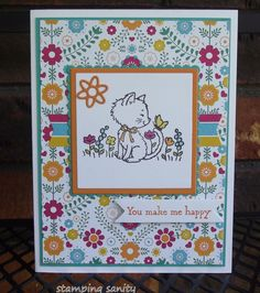 stamping sanity: Pretty Kitty