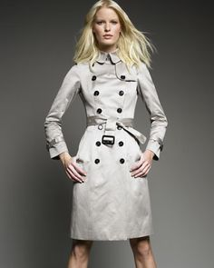Sateen Trench Coat, Trench by Burberry Prorsum at Neiman Marcus. $1,795 .. Mar 2013