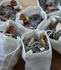 good explanation of moth repellent moth sachets and wool blanket moth sachets filled with herbs and cinnamon
