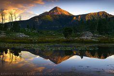 CO,Colorado,Engineer Mountain,Lime Creek Road,San Juan Mountains,Summer,Sunrise,USA, photo