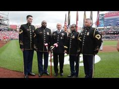 """Awesome rendition of the National Anthem!...General Dempsey sings """"National Anthem"""" 4th of July 2013"""
