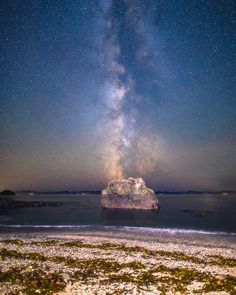 Milky Way Alignment at Sombrio Beach Canada [OC] [22002750] #reddit