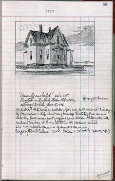 (Edward Hopper's sketchbook workman: . Hooper Edward, Ashcan School, Artist Sketchbook, Anselm Kiefer, Sketchbook Inspiration, You Draw, Urban Sketching, Oeuvre D'art, Drawing Sketches