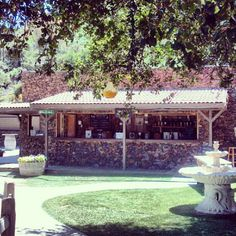 Malibu Wines is tucked up in the canyons of Malibu, and is one of several wine tasting locations in the region.