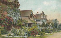 Vintage Postcard USA 1908 Cajon Street Redlands California CA to Finland   eBay