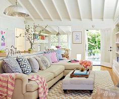 From corralling kids' toys to sprucing up your decor, we'll show you how to get your home looking company-ready in no time with these quick household spruce-ups./