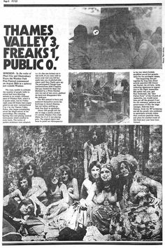The Windsor Free Festival 1972-74