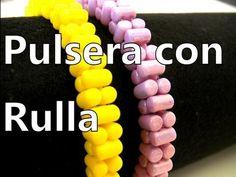 Abalorios DIY - Pulsera con cuentas Rulla ® (versione 2) - YouTube