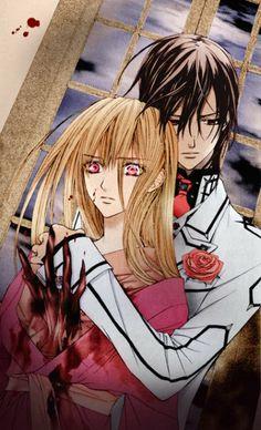 Vampire Knight ~ Kaname killing Shizuka