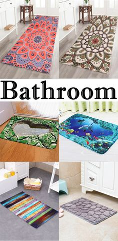 Bath Rugs & Toilet Covers