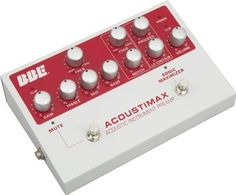 BBE Acoustimax Acoustic Instrument Preamp Pedal with Full Featured Sonic Maximizer by BBE Sound. $199.99. BBE is at the forefront of audio technology which allows amplified music to sound more natural, and the latest generation of BBE High Definition Sound technology is a vital element to the new Acoustimax acoustic preamp. In the four years since BBE last offered its award-winning 386 acoustic preamp, BBE's design and engineering team studied the serious acousti...