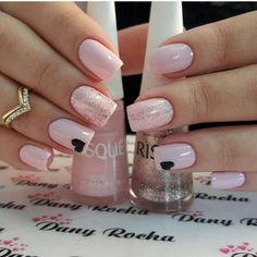 Nails Art Pink Elegant Ideas For 2019 Perfect Nails, Gorgeous Nails, Love Nails, Stylish Nails, Trendy Nails, Valentine Nail Art, Best Acrylic Nails, Disney Nails, Manicure E Pedicure
