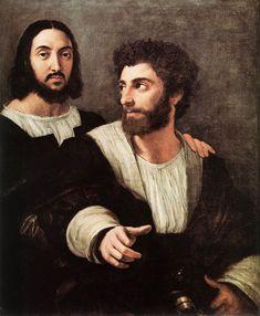 double portrait 1518 Raphael Sanzio