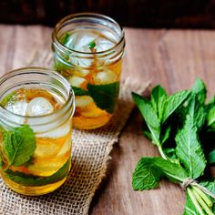 refreshing mint for hot sunny days