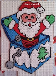 christmas perler beads christmas ornament christmas crafts christmas patterns christmas cross stitches - Christmas Perler Bead Patterns