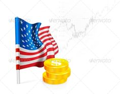 US Flag with Coins   #GraphicRiver         American Flag with coins on background stock illustrations. Vector illustration     Created: 5October13 GraphicsFilesIncluded: JPGImage #VectorEPS Layered: No MinimumAdobeCSVersion: CS Tags: america #american #background #business #currency #dollar #economic #economy #equities #exports #finance #financial #flag #global #graph #growth #market #money #national #patriotic #profit #sign #states #stock #symbol #trade #united #usa #vector #white