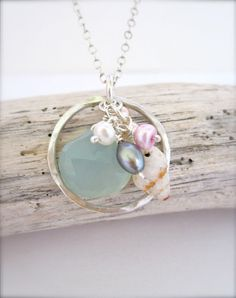 Beach bridesmaid jewelry