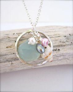 Beach bridesmaid jewelry